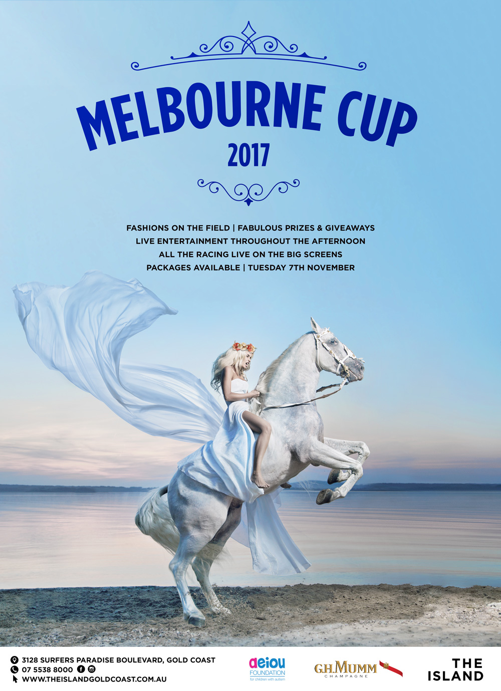 melbourne cup at the island