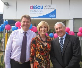 Official Opening of AEIOU Bundaberg